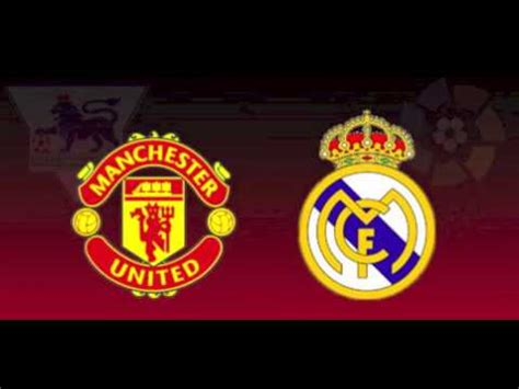 champions league draw manchester united  real madrid
