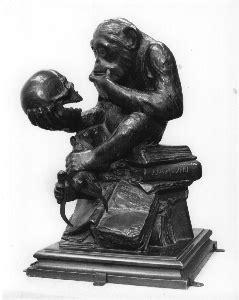 A Demon Opera XXVII (Darwin's Monkey, Lenin)   Buddha