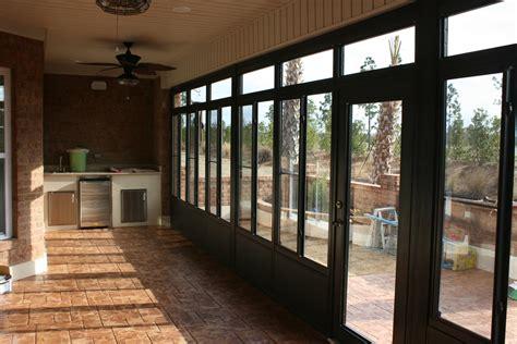Chion Patio Rooms Porch Enclosures by Lanai Patio Enclosures Nc 910 799 2197 All Seasons Roofing