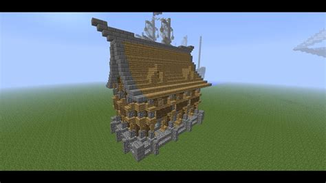 minecraft medieval detailed house tutorial   build  detailed house youtube