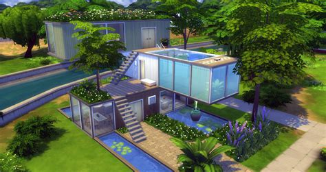 large storage buildings the sims 4 building challenge container house sims