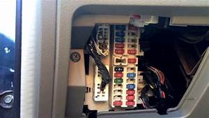 Nissan Altima 2001-2006 Fuse Box Location