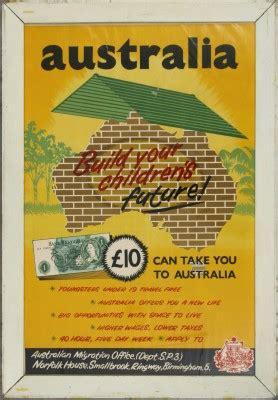 australian immigration bureau 1955 australian migration office poster australia 39 s