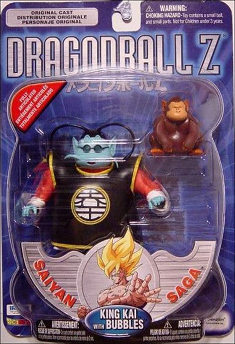 dragon ball  king kai  bubbles silver package jan