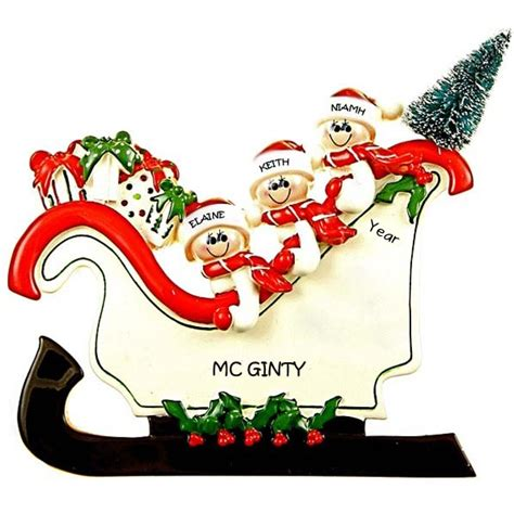 personalized christmas tabletop decorations www