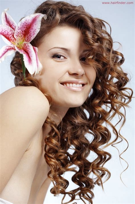 spiral hair style spiral curls for hair all hair style for womens 3970