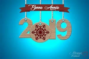 Carte Nouvelle Année : cartes bonne ann e 2019 gratuites message d 39 amour ~ Dallasstarsshop.com Idées de Décoration