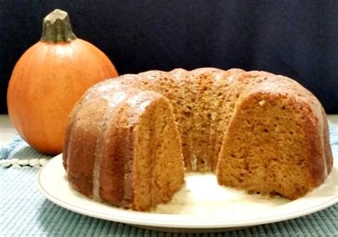 Pumpkin Spice Bundt Cake With Vanilla Butter Sauce