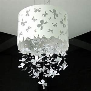 Stehlampe Weißer Schirm : stehlampe aus papier f r ein auff lliges interieur ~ Indierocktalk.com Haus und Dekorationen