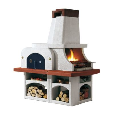 leroy merlin lade da esterno barbecue in muratura con cappa e forno parenzo prezzi e