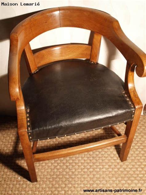 fauteuil de bureau ancien ancien fauteuil de bureau fin xixe si 232 cle artisans du patrimoine