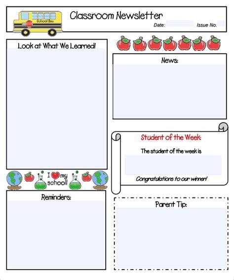 preschool newsletter template free 11 kindergarten newsletter templates free sample 910