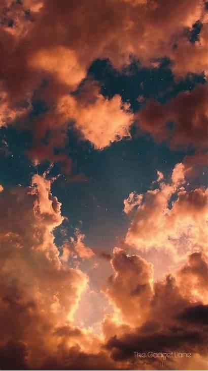 Aesthetic Sunset Iphone Sky Cloud Pintura Pastel