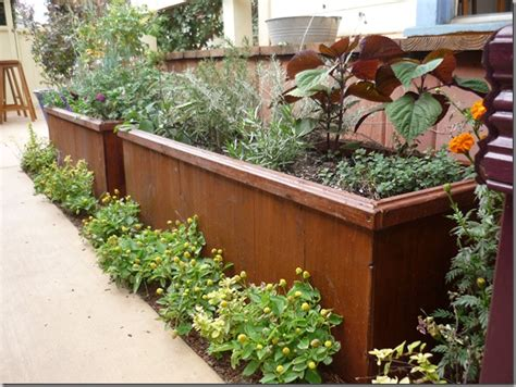 garden planter boxes the bottomless planter box from outerior decor