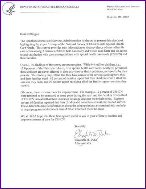 parent survey cover letter