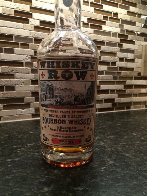 Whiskey Row Distiller's Select Bourbon Whiskey | The ...