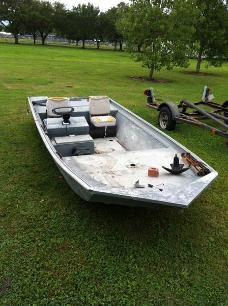 Aluminum Boats In Louisiana For Sale by 15x48 Aluminum Boat Louisiana Sportsman Classifieds La