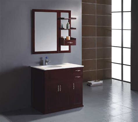 Solid Wood Bathroom Cabinet by Solid Wood Bathroom Cabinet Bathroom Vanity Yl S9850