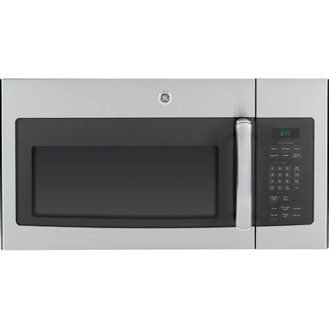 ge appliances jvmsfss  cu ft   range sensor microwave oven stainless steel
