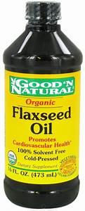Good 'N Natural - Organic Flaxseed Oil - 16 oz   Seasoning ...