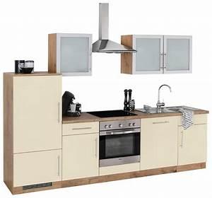 Gebrauchte Küchen Mit E Geräten : wiho k chen k chenzeile mit e ger ten aachen breite 280 cm online kaufen otto ~ Indierocktalk.com Haus und Dekorationen