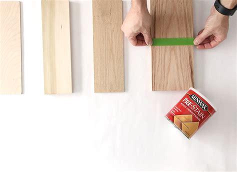 build  stain   diy wood tabletop minwax