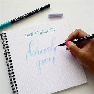 25 best ideas about brush pen on pinterest brush With good pens for lettering