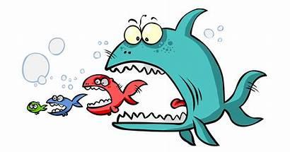 Fish Clipart Eating Clip Transparent Cartoon Area