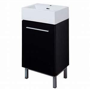 quotsohoquot vanity black rona With mini lavabo salle de bain