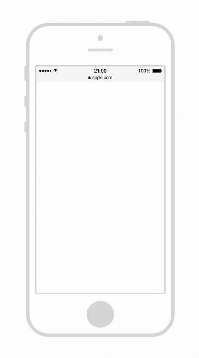 Iphone Outline Wireframe Transparent
