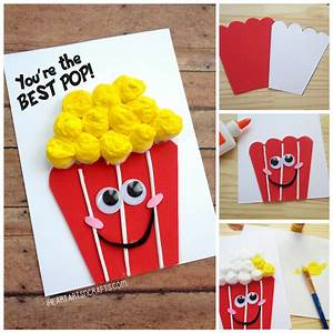 """Father's Day """"You're The Best Pop"""" Popcorn Card 