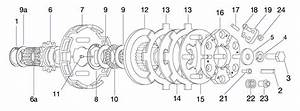 Bully Clutch Parts  2 Disc  4 Spring