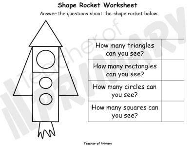 shape rockets teaching resource ks maths geometry