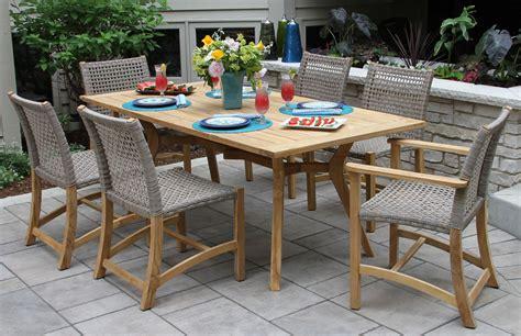teak hardwood ash wicker dining side chair 2pk