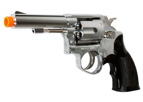TSD HFC HG-131B Gas Airsoft Revolver, Black, 4