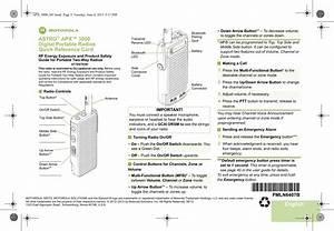 Motorola Solutions 89ft3830 Portable 2