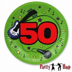 Pappteller 30 Geburtstag : bunte pappteller f r den 50 geburtstag den 50sten party ~ Markanthonyermac.com Haus und Dekorationen