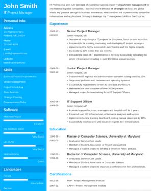 Different Cv Templates by The 17 Best Resume Templates Fairygodboss