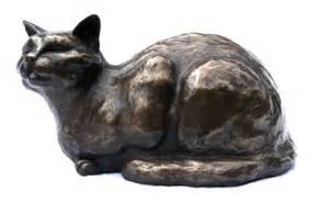 cat sculpture bronze cat sculpture ted gift for cat