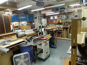 Single Car Garage Woodworking Shop Layout With Popular ...