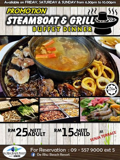 Steamboat Kuantan by Steamboat Grill Senja Terrace Promotion 2017 Lkpp
