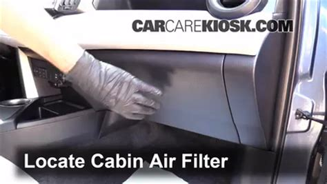 cabin filter replacement toyota rav