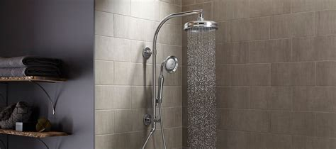 bathroom tiled showers ideas rainheads showerheads handshowers bodysprays