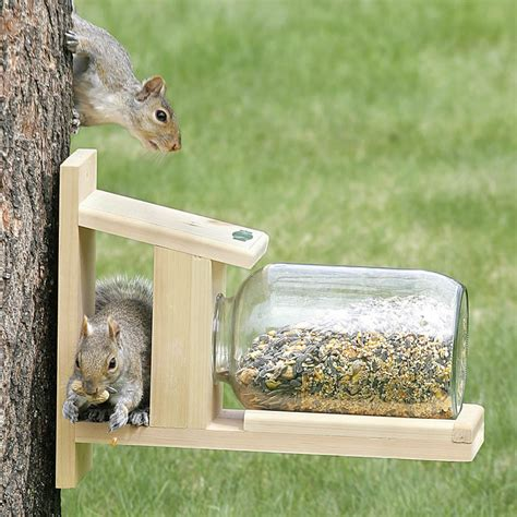 duncraftcom duncraft  squirrel jar feeder