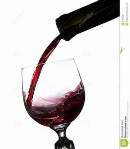 Pouring Red Wine Into Glass Royalty Free Stock Photos ...