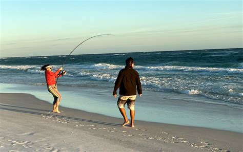 panhandle florida fishing sports surf report angling action april star