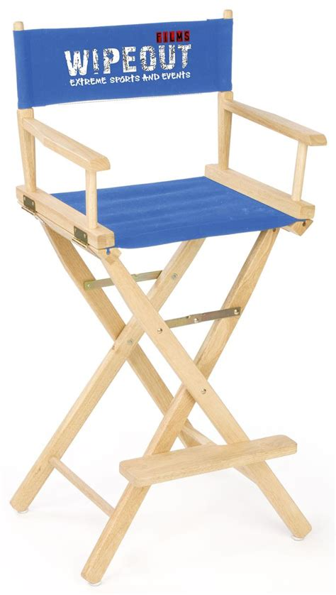 Personalized Directors Chair Canada Wood Director Chair Portable Seating With Custom Printing