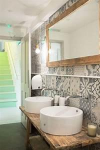 Piastrelle per il bagno rustico (Foto 24/40) Design Mag