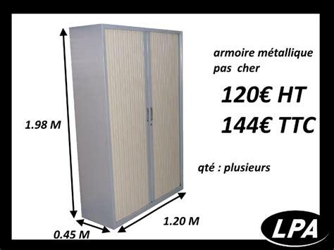 vente mobilier bureau occasion armoire métallique haute pas cher armoire haute