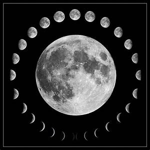Phases of the moon | Space Earth Weather | Pinterest